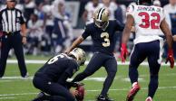 Con gol de campo en los últimos instantes, Saints derrota a Texans