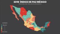En 2018 la violencia le costo 5.16 billones de pesos a México