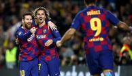 Lionel Messi se luce en su partido 700 con el Barcelona