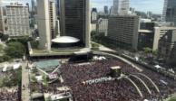Deja dos heridos tiroteo en Toronto durante festejo de Raptors