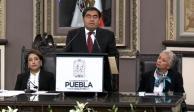 Arranca la 4ta transformación en Puebla, afirma Barbosa tras rendir protesta