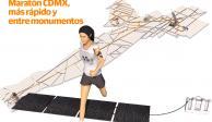 INFOGRAFÍA: Maratón CDMX, más rápido y entre monumentos