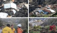 Tras derrumbe, declaran zona de desastre en La Paz, Bolivia