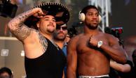 Llega Andy Ruiz 50 libras arriba de Anthony Joshua para pelea