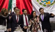 Cámara de Diputados rinde homenaje a hermano de Muñoz Ledo