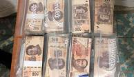 Elementos de la FGR aseguraron un millón de pesos en Sinaloa