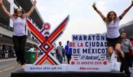 Cuatro mil 252 elementos policiacos vigilan el Maratón de la CDMX