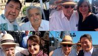 Mujica, estrella de las selfies en el mensaje de AMLO