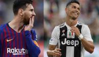 Causa polémica el beso entre Leo Messi y Cristiano Ronaldo