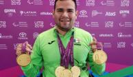 Diego López obtiene dos medallas de oro en el mundial de Paranatación