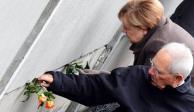 Merkel recuerda 30 años de la caída del Muro de Berlín