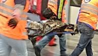Muere hombre al arrojarse a las vías del Metro Chilpancingo