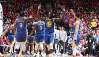 Warriors igualan Finales de la NBA tras vencer 109-104 a Raptors