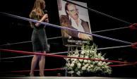 El CMLL reliza una misa en honor a Paco Alonso Lutteroth