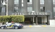 Estrangulan a mujer al interior del Hotel Castillo en Tlalpan