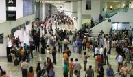 Movimiento de pasajeros en AICM crece 4.3% de enero a marzo