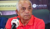 Enrique López Zarza es presentado como entrenador del Veracruz