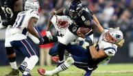 Ravens doblegan a Patriots y les quitan el invicto en Temporada 100