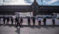 Se retiran campesinos de Palacio Nacional tras dos días de protesta
