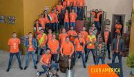 El América se toma la foto oficial en la Vecindad del Chavo
