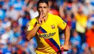 Barcelona, sin Messi, vence al Getafe gracias a Suárez y Firpo