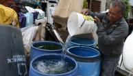 Estas son las 87 colonias de la GAM sin agua para hoy y mañana