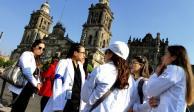 Secretaría de Salud atenderá a los médicos residentes