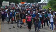 En México, 66 mil 915 personas pidieron refugio hasta noviembre