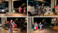 VIDEO: Selección Mexicana ignora a dos aficionados que los esperaban en hotel de Bermudas