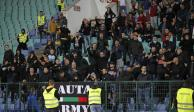 Detienen en dos ocasiones Bulgaria vs Inglaterra por cantos racistas