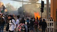 Sube a ocho los muertos en protestas en Chile; 5 de ellos calcinados