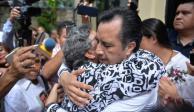 Cuitláhuac García ofrece disculpa por desaparición forzada de jóvenes en Papantla