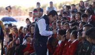 Impulso educativo beneficia a familias hidalguenses: Omar Fayad