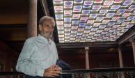 Vicente Rojo fusiona lo antiguo y lo moderno en su primer vitral