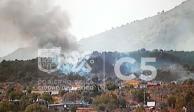 Se incendia otro pastizal en la CDMX, ahora en Tláhuac