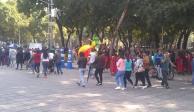 Avanza marcha de comunidades indígenas del Ángel al SAT