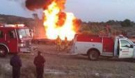 FOTOS: Explota toma clandestina en Axapusco, Estado de México