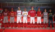 Diablos Rojos presentan sus nuevos uniformes para temporada de LMB