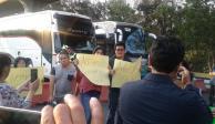 Manifestantes toman casetas de cobro de Tlalpan y Tepotzotlán