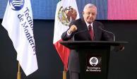 Desde el Tec, AMLO reconoce visión de Eugenio Garza Sada (VIDEO)