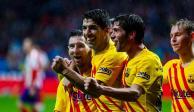 Messi vuelve a salvar al Barcelona, ahora ante el Atlético de Madrid