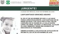 Ayuda a encontrar al pequeño Liam Santiago, de 8 meses de edad #AlertaAmber