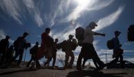 Mexicano viajó en caravana migrante para conseguir un mejor futuro en NL