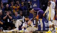 VIDEO: Así fue como Stephen Curry se fracturó la mano izquierda
