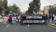 Comerciantes marchan de Reforma al Zócalo, afectan vialidad
