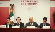 SRE solicita diálogo directo a canciller de Bolivia
