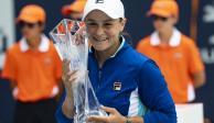 Tras ganar Masters de Miami, Ashleigh Barty ingresa al Top 10 de la WTA