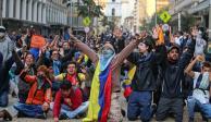 Colombia va por siete días de protestas; advierten brutalidad policiaca