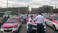 Ganancias de taxistas han bajado 60% desde la entrada de aplicaciones