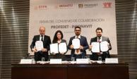 Infonavit y Profedet firman convenio de colaboración para agilizar entrega de recursos